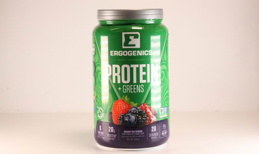 Organic Plant Protein + Greens - Berry- Code#: VT0264