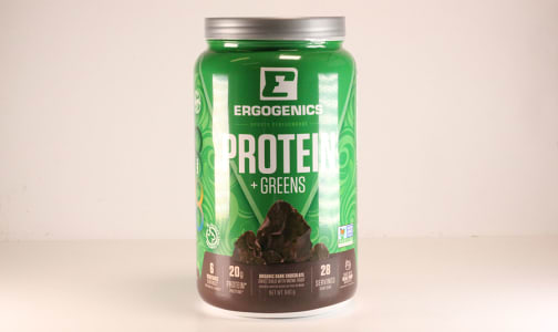 Organic Plant Protein + Greens - Chocolate- Code#: VT0265