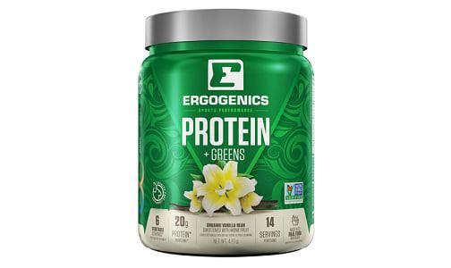 Organic Plant Protein + Greens - Vanilla- Code#: VT0266