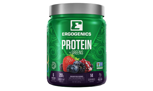 Organic Plant Protein + Greens - Berry- Code#: VT0267