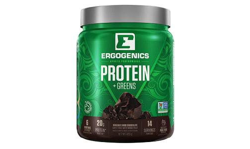 Organic Plant Protein + Greens - Chocolate- Code#: VT0268