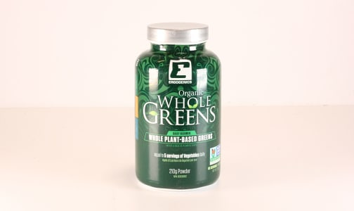 Organic Whole Greens Powder- Code#: VT0269