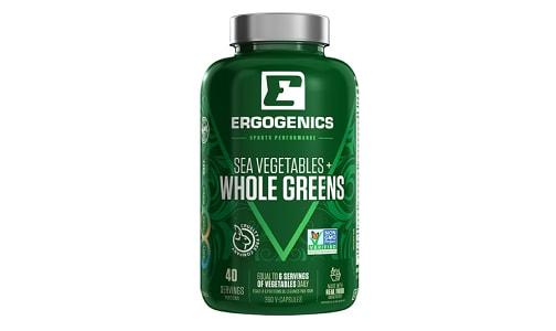 Organic Whole Greens- Code#: VT0270