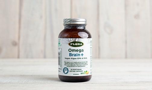 Omega Brain+ (Vegan Algae EPA+DHA)- Code#: VT0320