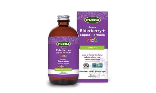 Organic Elderberry+ Liquid Formula Kids- Code#: VT0374