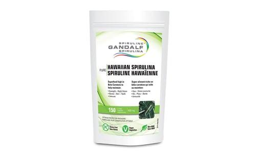 Hawaiian Spirulina Capsules- Code#: VT0378