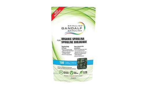 Organic Spirulina Tablets- Code#: VT0379