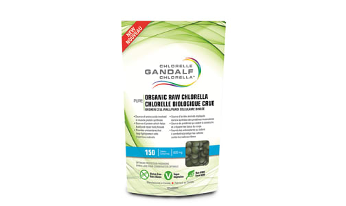 Organic Chlorella Tablets- Code#: VT0381