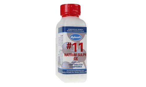 #11 Natrum Sulphuricum 6X Cell Salts- Code#: VT0425