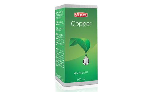 Copper - Trace Minerals- Code#: VT0595