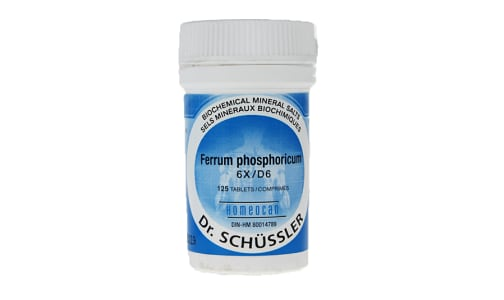 Ferrum Phosphoricum 6X- Code#: VT0608