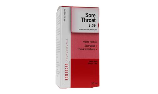H39 - Sore Throat Drops- Code#: VT0613