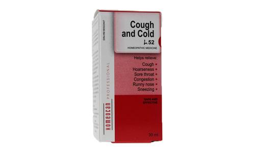 H52 - Cough & Cold Drops- Code#: VT0615