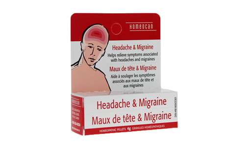 Headache & Migraine- Code#: VT0619