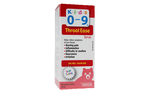 Throat Ease Syrup- Code#: VT0660
