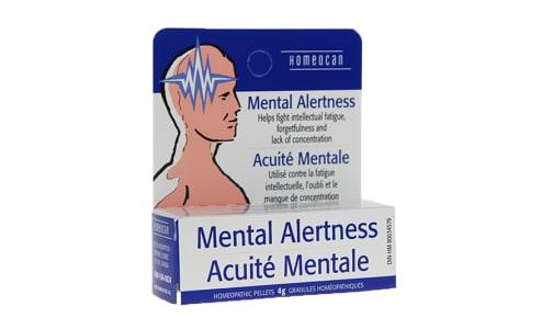 Mental Alertness- Code#: VT0668