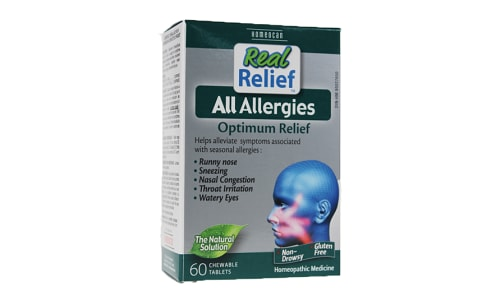 Real Relief - All Allergies- Code#: VT0690