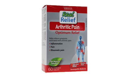 Real Relief - Arthritic Pain- Code#: VT0691