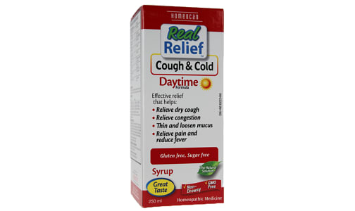 Real Relief - Cough & Cold Daytime- Code#: VT0692