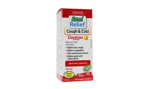 Real Relief - Cough & Cold Daytime- Code#: VT0693
