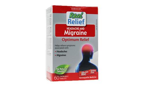 Real Relief - Headache & Migraine- Code#: VT0696