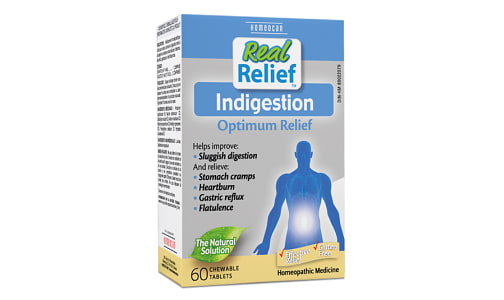 Real Relief - Indigestion- Code#: VT0697