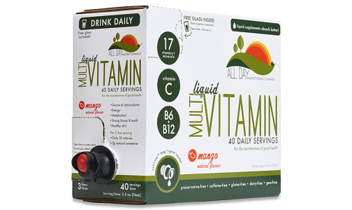 Multi-Vitamin Mango- Code#: VT0787