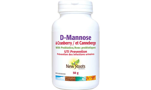D-Mannose & Cranberry With Probiotics- Code#: VT0792
