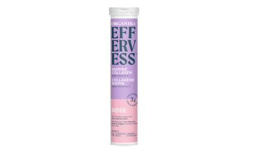 Effervess Collagen with Vitamin C Tablets - Rose- Code#: VT0865