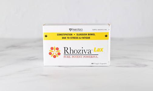 Organic Rhoziva Lax- Code#: VT0926