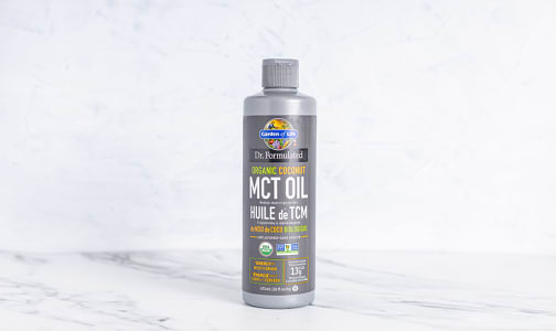 Organic Dr.Formulated - MCT Oil- Code#: VT0930