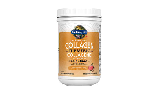 Multi-Sourced Collagen - Turmeric Apple Cinnamon- Code#: VT0959