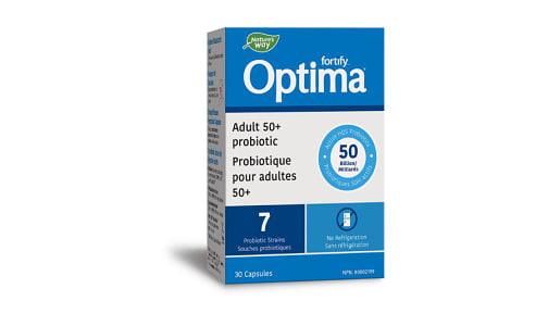 Prima Optima 50 Billion Adult 50+ Probiotic- Code#: VT0968