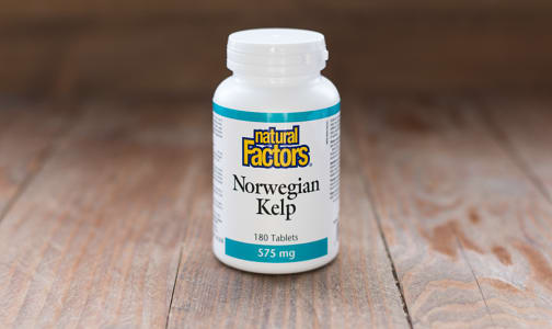 Norwegian Kelp 575 mg- Code#: VT1025