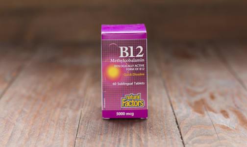 B12 Methylcobalamin 5000mcg- Code#: VT1081