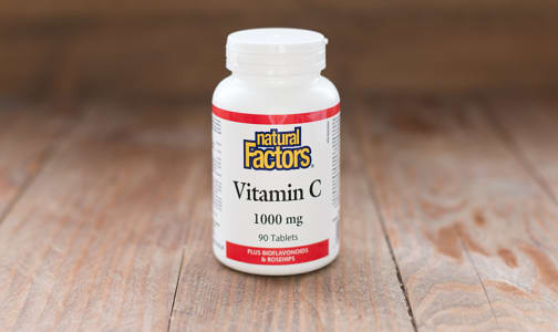 Vitamin C 1000 mg Plus Bioflavonoids & Rosehips- Code#: VT1091