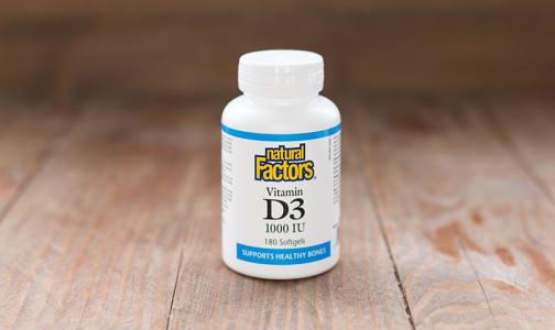 Vitamin D3 1000 IU/UI- Code#: VT1097