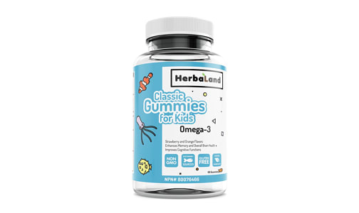 Classic Gummy for Kids: Omega 3- Code#: VT1178