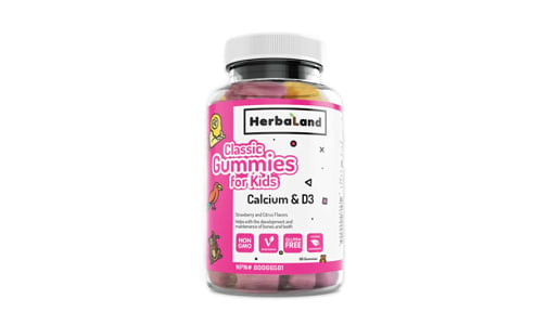 Classic Gummy for Kids: Calcium and D- Code#: VT1180