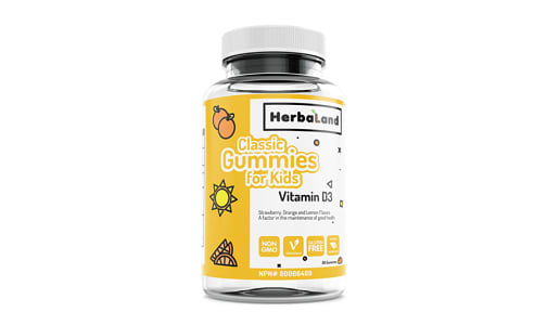 Classic Gummy for Kids: Vitamin D- Code#: VT1186