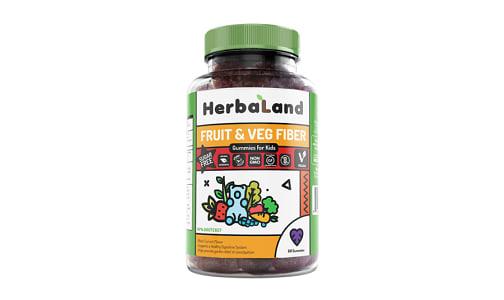 Organic Gummy for Kids: Fruit,Veg and Fiber- Code#: VT1187