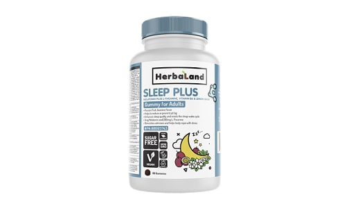 Gummies for Adults: Sleep Plus- Code#: VT1189