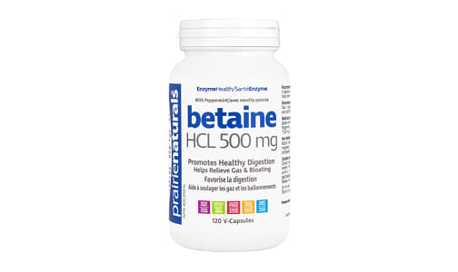 Betaine HCL 500mg- Code#: VT1203