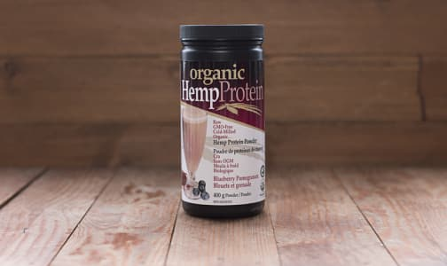Organic Hemp Protein - Blueberry Pomegranate- Code#: VT1208