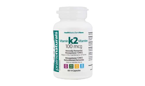 Vitamin K2 100mcg MK-7- Code#: VT1245