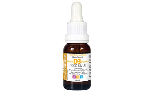 Liquid Vitamin D 1,000IU- Code#: VT1286