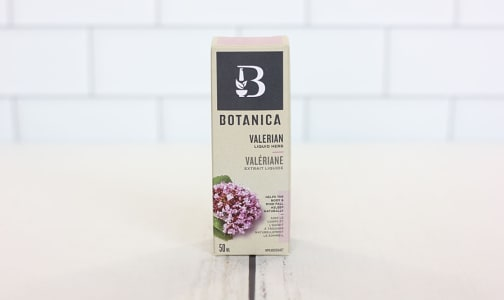 Organic Valerian Liquid Herb - Sedative, Sleep Support- Code#: VT1472