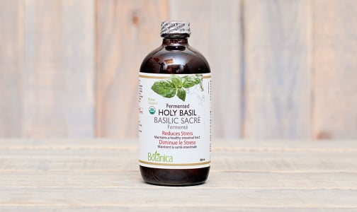 Organic Fermented Holy Basil (Certified Organic) - Reduces Stress- Code#: VT1480