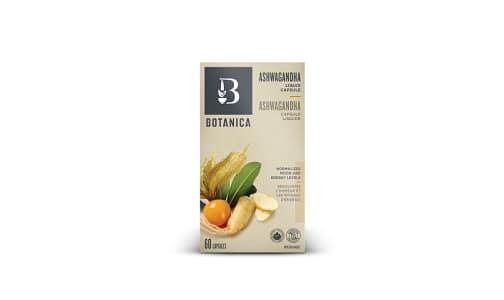 Ashwagandha Liquid Phytocaps (Certified Organic) - Nervine Tonic- Code#: VT1491