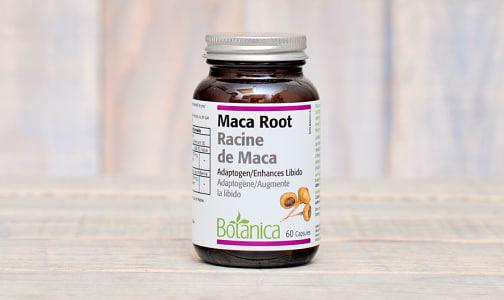 Maca Root Capsules (Certified Organic) -Adaptogen/Enhances libido- Code#: VT1496